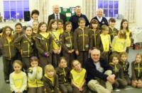 1st Honiton Brownies thanks to Lions
