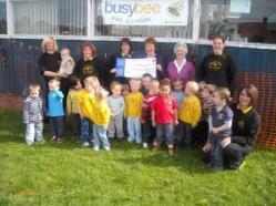 Lions Ladies at Busy Bee pre-school