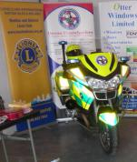 Devon Freewheelers Lions Bike ready to fuel up and go