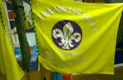 Honiton Scouts Flag