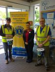 May 23rd Lions with Louisa, Tesco communities champion