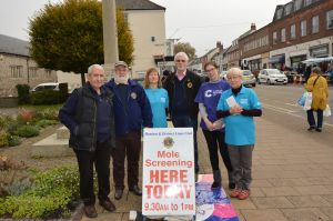 Mole Day Honiton 119 tested £1K raised