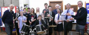 Presentation to Honiton Youth Orchestra
