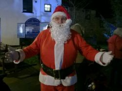 Father Christmas in Honiton