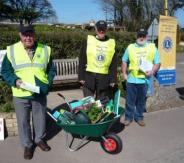 Spring wheel barrow April 1st at Otter Nurseries