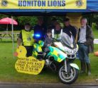 Another £1000 raised at the duck race for Devon Freewheelers
