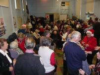 Senior citizens Drinks party before lunch