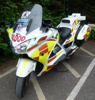 Devon Freewheelers blood bike