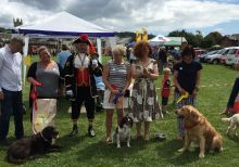 Town Mayor and Crier at Classic car event / Dog show