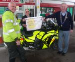 £300 petrol account opened at Honiton garage for freewheelers