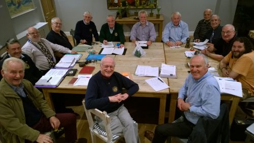 Honiton Lions meeting during 2017