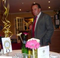 Neil Parish giving his fun filled speech to the guests