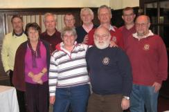 Quiz night Jan 2012 win for Honiton