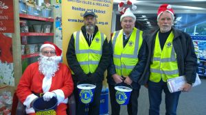 Final collection event at Tesco Honiton for 2016