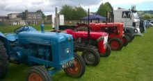 tractors at lions classic car show